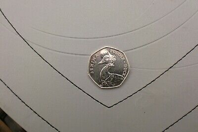 Rare 50p coin Jemima Puddle-Duck getting hard to find low mintage