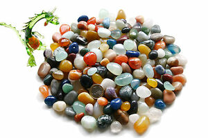 1 kg Trommelsteine Edelsteine ~ Halbedelsteine bunt gemischte Mineralien 10-25mm