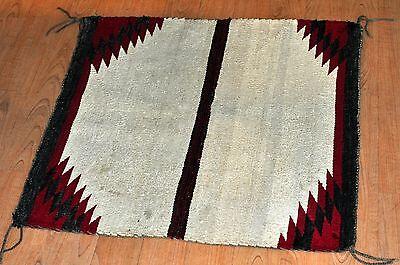 Navajo Native American Indian Blanket-HAND WOVEN NAVAJO SHEEP WOOL RUG