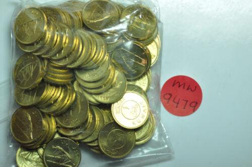 Kuwait; Lot of 100 Coins: Fils AH1386 - 1967 Sabah Ibn Salim  KM#9  BU