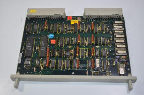 RARE Siemens CNC PCB Circuit Control Board  PN#- C79040-a32-c200-04-86