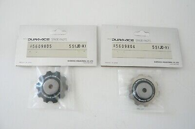 Shimano# 5809604 / 5609805 Dura Ace 7400 rear derailleur titanium pulley one set