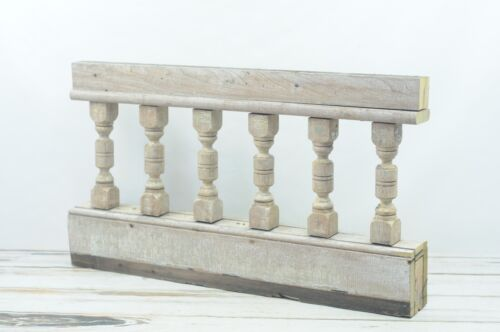 Antique Turned Balustrade Spindle Porch Rail Architectural Salvage #3