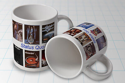Status Quo  Album Cover Mug New  Great Gift name added free