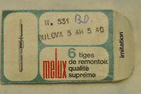 N.1 Tiges De Remontoir Bulova Cal.5ah 5ad -  - ebay.it