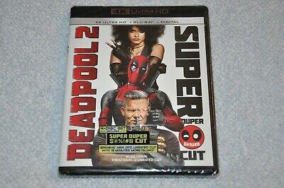 Deadpool 2 Super Duper Cut 4K Ultra HD + Blu-Ray + Digital Marvel Movie