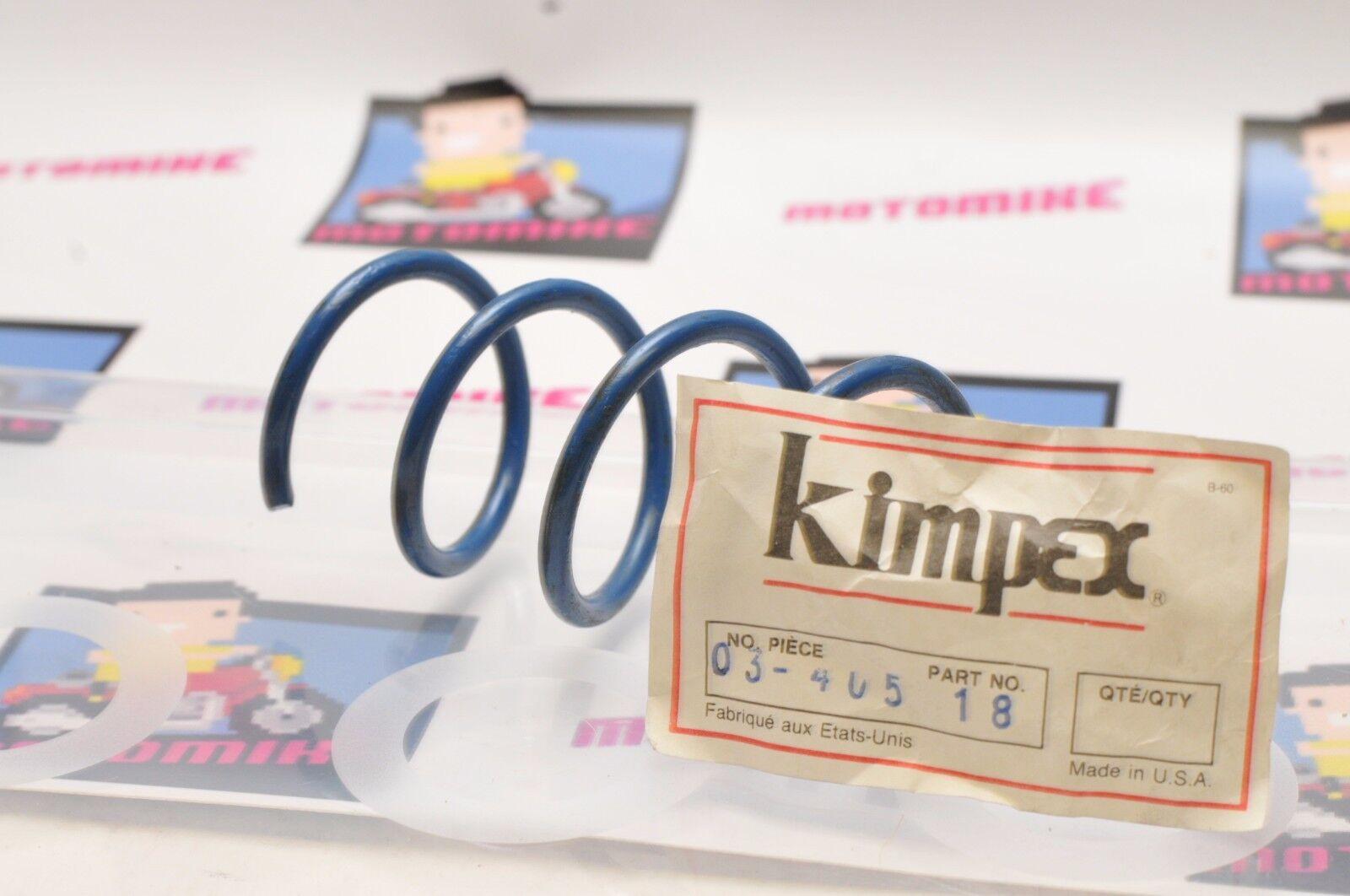 KIMPEX CLUTCH SPRING 03-405-18 BLUE