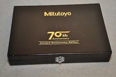 Mitutoyo 70th Anniversary Digital Caliper Micrometer Set Limited Edition Rare