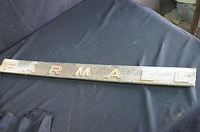 International Harvester Farmall Aluminum Side Emblem 1206 504 656 706 806 Ih A