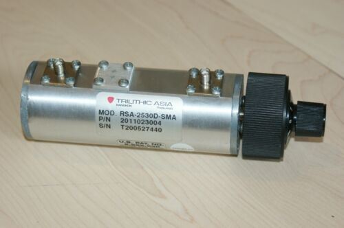 Trilithic RSA-2530D-SMA RF Step Attenuator 0-30 dB DC-2 GHz 1 dB Steps