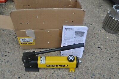 Enerpac P-142 Hydraulic Hand Pump 10000psi 14 Npt 2 Speed New