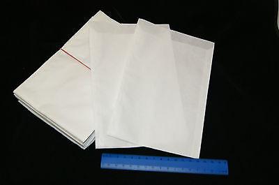 (0,08€/Eh.) 200 Stück Papierflachbeutel, 130x180mm, Papiertüten, für Postkarten