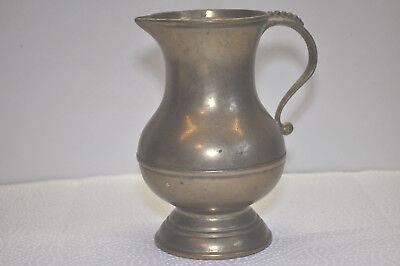 Messing Vase schwer