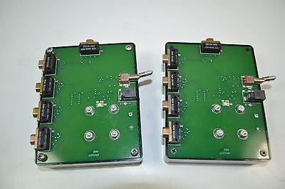 Power Distribution Box W Micro-d Connectors Pn- Mdm-9scbr Mdm-9pcbr Lot Of 2