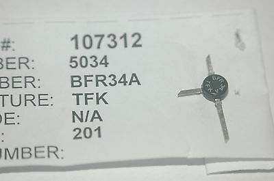 Tfk Bfr34a Rf Transistor 3-pin Smd Part New Lot Quantity-2