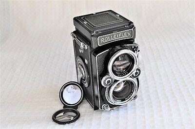 Rolleiflex 2.8D twin lens reflex.Bay3