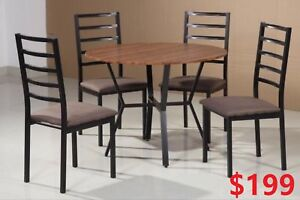 Dining Table Set   Sofa Bed Set   $199