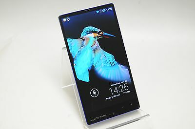 Unlocked SHARP softbank Aquos Phone Xx 302SH Blue shipping from JAPAN