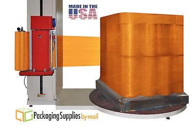 50 Rolls 20 X 5000 X 63 Gauge Pallet Machine Plastic Wrap Orange Stretch Film