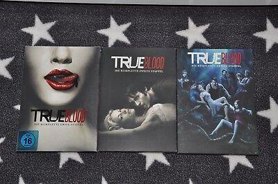 ++True Blood DVD Staffel 1-3 Neuwertiger Zustand++
