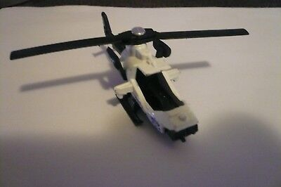 mission helicopter 1985 Matchbox police UNIT TWO