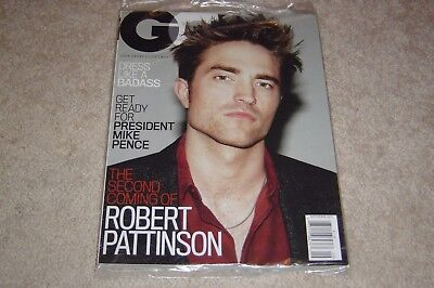 Robert Pattinson   Mike Pence September 2017 Gq Magazine New   Partially Sealed