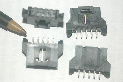 Molex 0-70545003-9 Shrouded Header Connector 5-pin 2.54mm Thru-hole Lot Qty-10