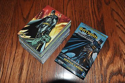 Batman The Legend 63 card base set + 5 wrappers