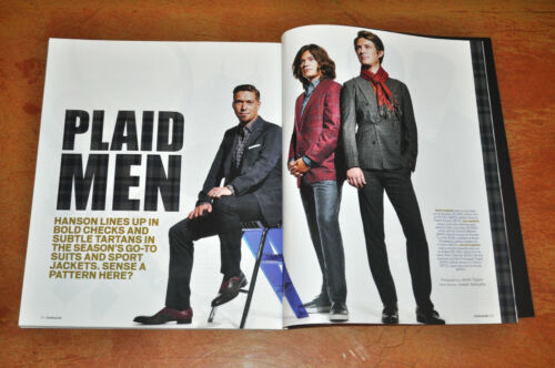 Hanson In Forbes Magazine! Plaid Men!