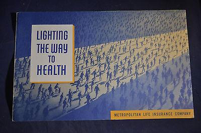 1939 Lighting the Way to Health New York Worlds Fair - Metropolitan Life Insur.