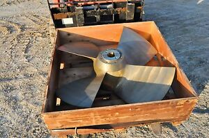 Navy Propeller Military 48 inch 650 lbs Nibral NEW! PT Boat Ship USMC Man Cave