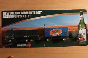 Modellino-autocarro-per-birra-Rimorchio-trasporto-MAN-Brinkhoff-s-nr-1-HS-7