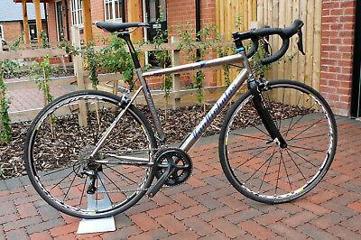 Van Nicholas Zephyr titanium road bike 54cm frame