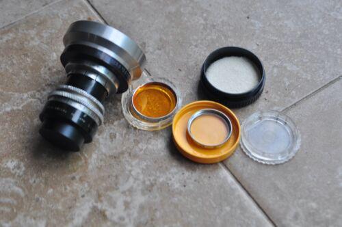 COOKE 25mm F1.5 C mount Lens with filter hood Bolex H16