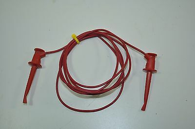 60 Pomona Mini Grabber To Mini Grabber Patch Test Cable Model 3781-60
