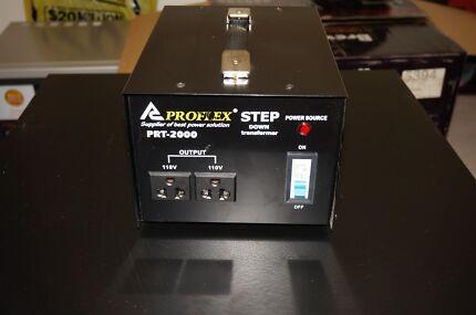 Stepdown transformer Input 240V Output 110V Ryde Area Preview