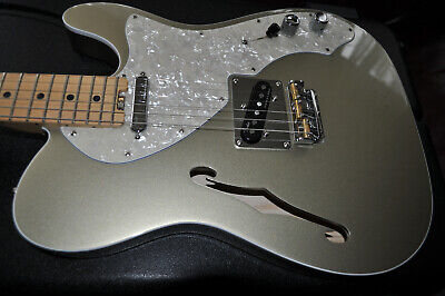 xFender American Elite Telecaster Thinline  Maple Fingerboard champagne tele