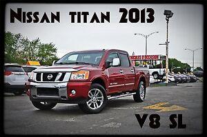 2013 Nissan Titan sl,cuir,nav
