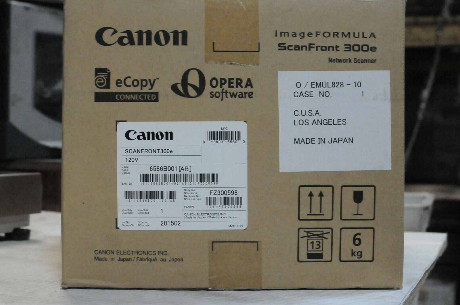 Canon imageFORMULA ScanFront 300e Networked Document Scanner