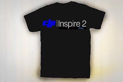 DJI INSPIRE 2 DRONE PILOT TEE SHIRT Mens,Ladies and Kids sizes  SHIPS FREE!