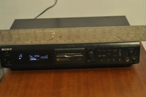 Sony MDS JE510 Minidisc  Player/ Recorder TESTED working