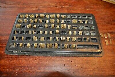 New Hermes 35-041 Old No. 264 Engraving Font Set