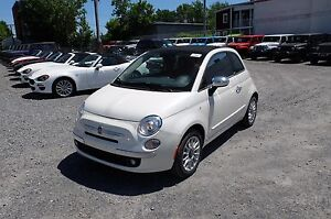2016 Fiat 500C, DÉCAPOTABLE, BLUETOOTH LOUNGE, CUIR, MAGS