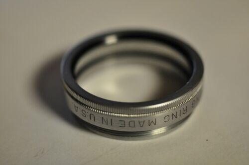 Kodak ser. V thread adapter to accept a series V filter. With retaining ring.