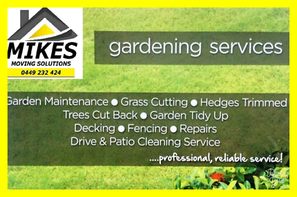 MIKES GARDENING SERVICES