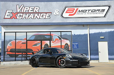 2014 Porsche GT3 2K Miles - Motor Certificate Incredible Car Gloss Black