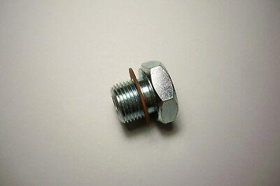 65275 C9nn6730b Engine Oil Drain Plug For Ford Tractor 2000 3000 4000 2600 3600
