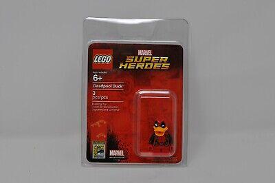 SDCC LEGO 2017 EXCLUSIVE DEADPOOL DUCK MINI FIGURE MARVEL COMICS RARE NEW