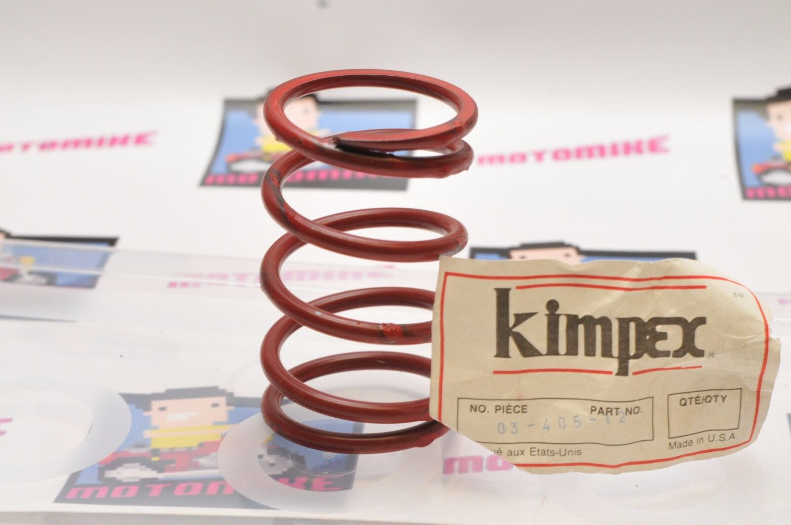 KIMPEX CLUTCH SPRING 03-405-12 RED
