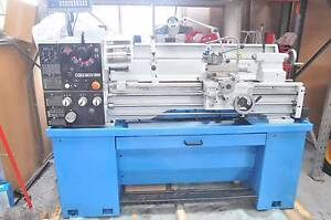 Heavy duty 240V 2hp 51mm Bore Lathe 360x1000 with DRO Quick Tool Coburg North Moreland Area Preview